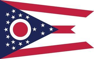 Ohio officially flag vector