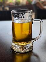 tall beer glass photo