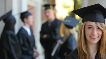portrait de diplômé video