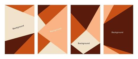 Colorful abstract background is used for the background of poster templates banner and others vector