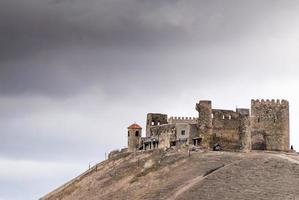 Agara, Georgia 2020- Abandoned castle transformed to living house photo