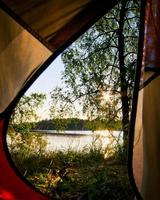 Camping in Lithuania with a view photo