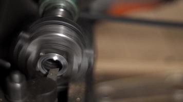 A Lathe Cutter metal ring video