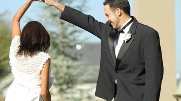 mariés à la danse de mariage video