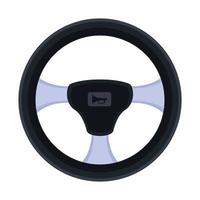 car driver wheel vector