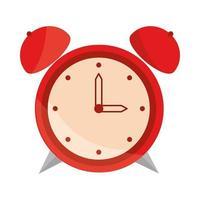 despertador despertador icono diseño plano vector