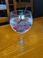 small glass of gin photo