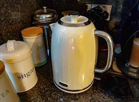 Cream Kettle in Kitchen photo
