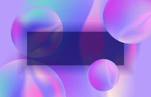 Modern Blue Background vector