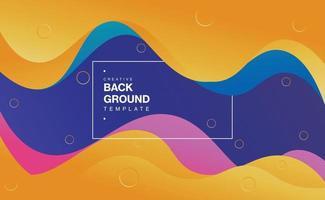colorful papercut background design vector