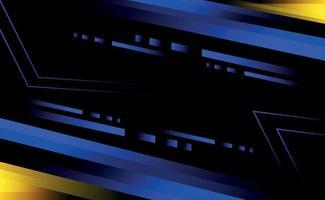 modern technology background template design vector
