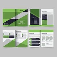 Business Proposal Brochure Template vector