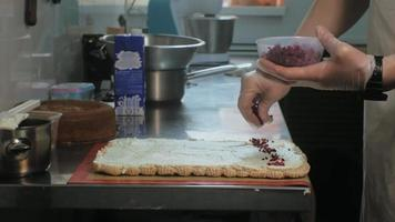A Chef Creates a Pastry Cake video