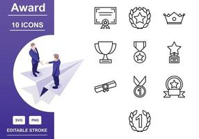 Approved And Accept Icon Set vector