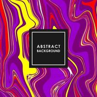 ABSTRACT BANNER WITH MULTICOLORED PAINT SPLASHES vector