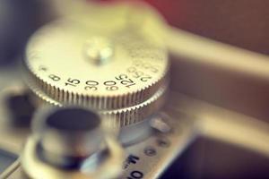 Close Up Of vintage camera photo