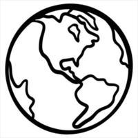 protejamos el planeta salvemos el planeta planeta en mano ecología estilo de dibujos animados vector