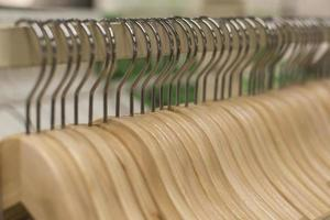 A rows of wooden Hanger photo
