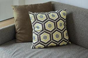 Sofa Pillow in apartment photo
