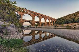 Pont du Gard in France photo