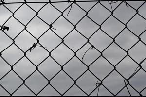 patrón de malla de alambre foto