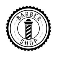 poste de peluquería vector