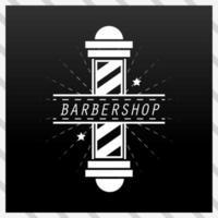 letrero de peluquería vector