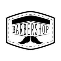 barber shop sticker vector