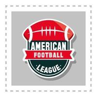 american football league vector