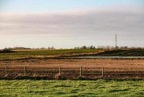pylons and fields photo