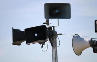black sound speakers photo