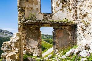 Ruins at Passo Falzarego photo