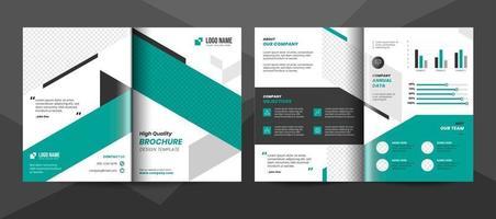 Creative corporate business brochure template vector