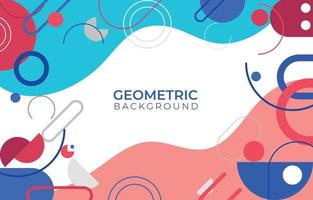 Abstract Background Red White Blue vector