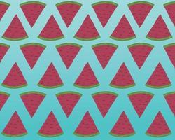 watermelon summer seamless pattern abstract design vector