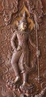 Figurines of Indra with vajra photo