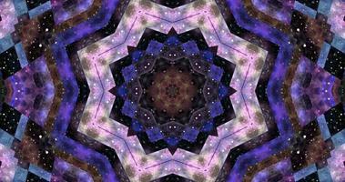 abstrait coloré animation multicolore liquide fond beau numérique peinture film fond abstrait film video