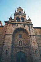 Iglesia de San Vicente de Abando church architecture in Bilbao city, Spain photo