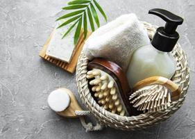 Zero waste natural cosmetics products photo