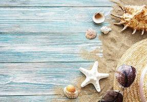 Holiday travel background photo