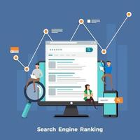 Search engine concept vector