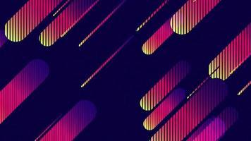 bella e moderna linea inclinata inclinata gradiente di sfondo del modello video