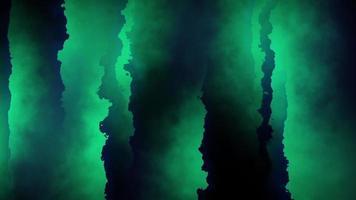 fond de lignes abstraites dentelées vert foncé video