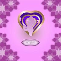 ilustration graphic vector of mothers day banner