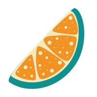 rodaja de limón cítricos frescos limones cortados rodaja de fruta y ralladura de jugo de limonada o logotipo de vitamina c icono de ilustración de vector de dibujos animados aislado