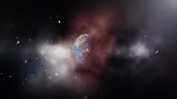 campanha do título do trailer cinematográfico 3D do dia da população mundial video