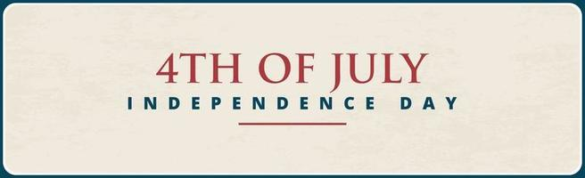 4th of July holiday background USA Independence Day vector
