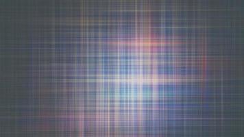 Boucle parfaite de mouvement abstrait géométrique horizontal vertical plaid video