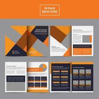 Business Proposal Brochure Templates vector