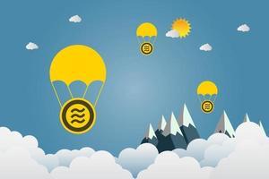 libra moneda plana vector logo finanzas